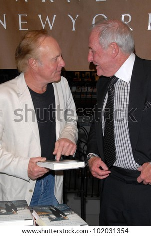 "James Caan and Jerry Weintraub  at a celebration of Jerry Weintraub's New Book ""When I Stop Talking You'll Know I'm Dead,"" Barney's New  York, Beverly Hills, CA. 05-18-10"