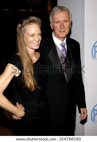 James Cameron at the 22nd Annual Producers Guild Awards held at the Beverly Hilton hotel in Beverly Hills, California, United States on January 22, 2010.  - stock photo