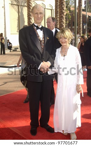 JAMES CROMWELL at the 2003 Primetime Creative Arts Emmy Awards at the Shrine Auditorium, Los Angeles. Sept 13, 2003  Paul Smith / Featureflash