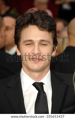 James Franco  at the 81st Annual Academy Awards. Kodak Theatre, Hollywood, CA. 02-22-09