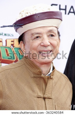James Hong at the Los Angeles premiere of  'Kung Fu Panda 3' held at the TCL Chinese Theater in Hollywood, USA on January 16, 2016.