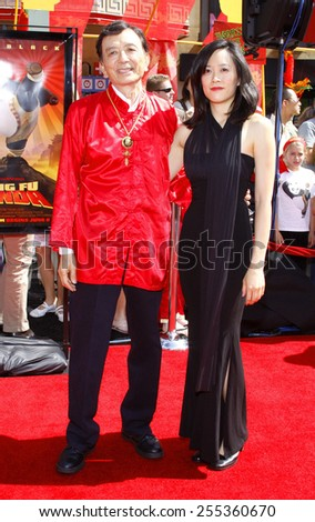 "James Hong attends the Los Angeles Premiere of ""Kung Fu Panda"" held at the Grauman's Chinese Theater in Hollywood, California, United States on June 1, 2008.  - stock photo"