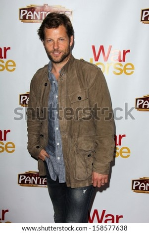 """Jamie Bamber at the """"War Horse"""" Los Angeles Premiere, Pantages, Los Angeles, CA 10-08-13 - stock photo"""