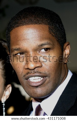 Jamie Foxx at the Los Angeles premiere of 'Ray' held at the Cinerama Dome in Hollywood, USA on October 19, 2004.