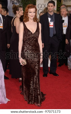 Jan 16, 2005; Beverly Hills, CA: Actress MARCIA CROSS at the 62nd Annual Golden Globe Awards at the Beverly Hilton Hotel.