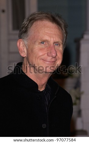 Jan 23, 2005; Los Angeles, CA: Actor RENE AUBERJONOIS at ABC TV's All Star Party on the Desperate Housewive lot at Universal Studios, Hollywood. - stock photo