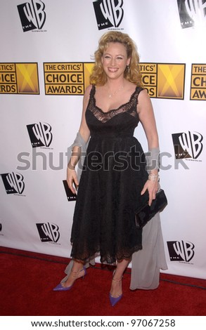 Jan 10, 2005; Los Angeles, CA:  Actress VIRGINIA MADSEN at the 10th Annual Critcs' Choice Awards at the Wiltern Theatre, Los Angeles.