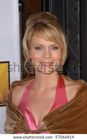 Jan 10, 2005; Los Angeles, CA:  TV presenter JANN CARL at the 10th Annual Critcs' Choice Awards at the Wiltern Theatre, Los Angeles. - stock photo