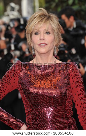 "Jane Fonda at the gala screening of ""Madagascar 3:Europe's Most Wanted"" at the 65th Festival de Cannes. May 18, 2012  Cannes, France Picture: Paul Smith / Featureflash"