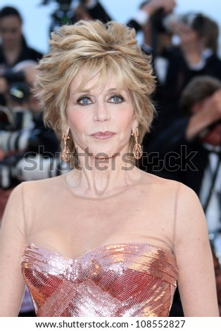 Jane Fonda at the 'Moonrise Kingdom' premiere - during the 65th Cannes Film Festival Cannes, France. 16/05/2012 Picture by: Henry Harris / Featureflash