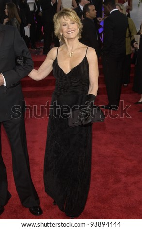 JANE FONDA at the 61st Annual Golden Globe Awards at the Beverly Hilton Hotel, Beverly Hills, CA. January 25, 2004