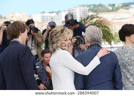 Jane Fonda attends the 'Youth' Photocall during the 68th annual Cannes Film Festival on May 20, 2015 in Cannes, France.