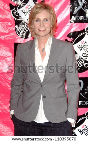 Jane Lynch  at the 5th Annual Best In Drag Show, Fundraiser for Aid for AIDS. Orpheum Theatre, Los Angeles, CA. 10-14-07 - stock photo