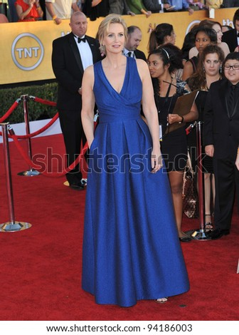 Jane Lynch at the 17th Annual Screen Actors Guild Awards at the Shrine Auditorium, Los Angeles. January 29, 2012  Los Angeles, CA Picture: Paul Smith / Featureflash