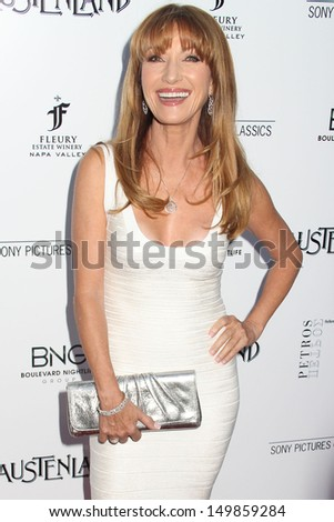 "Jane Seymour at the ""Austenland"" Los Angeles Premiere, Arclight, Hollywood, CA 08-08-13 - stock photo"