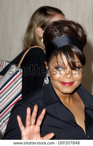Janet Jackson at THE HUMAN RIGHTS CAMPAIGN GALA HONORING JANET JACKSON, The Beverly Hilton Hotel, Los Angeles, CA, Saturday, June 18, 2005