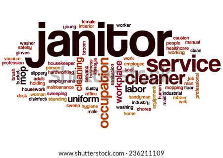 another word for janitor