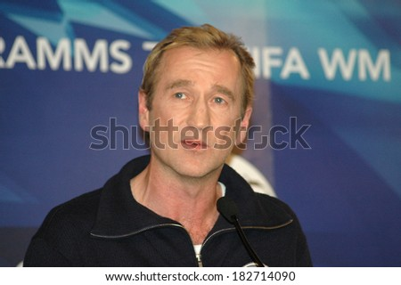 JANUARY 19, 2006 - BERLIN: Peter Lohmeyer at the opening of an exhibition on football and literature in the Museum of Communication in Berlin.