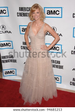 January Jones at the American Cinematheque Gala at the Beverly Hilton Hotel. October 13, 2007  Los Angeles, CA Picture: Paul Smith / Featureflash