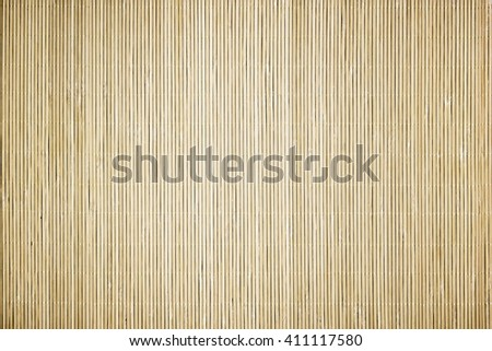 Japan bamboo mat - stock photo