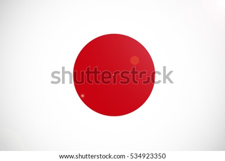 Japan Flag Japan National Flag Illustration Stock Illustration