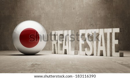 Japan High Resolution Real Estate Concept - stock photo
