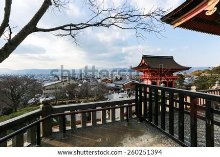 Japan - Kyoto. Kiyomizu Temple - stock photo