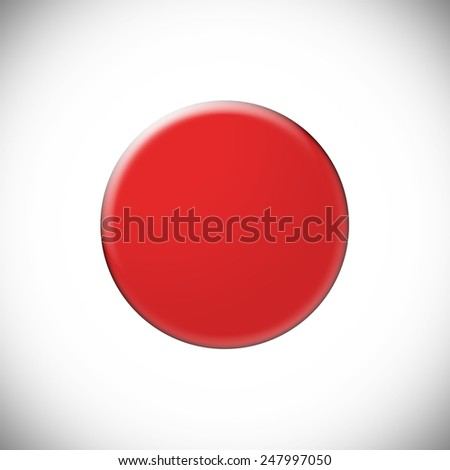 Japan's Flag Simple - stock photo