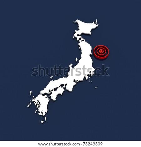 japan - tsunami 2011 v.01 - stock photo