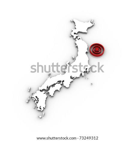 japan - tsunami 2011 v.02 - stock photo