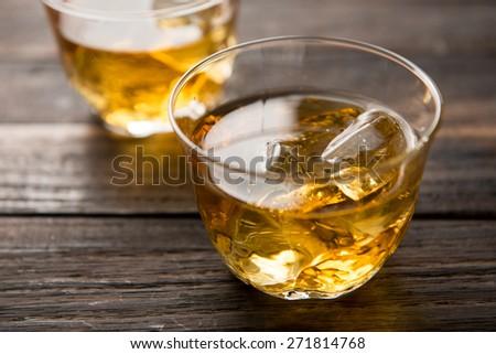 japanese barley tea  - stock photo