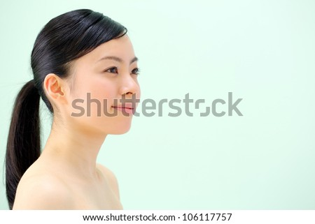 Japanese beautiful girl