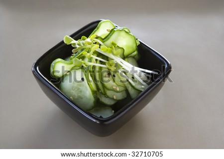 Japanese Cucumber Salad - stock photo