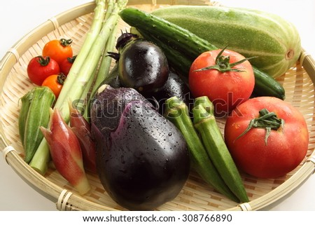 Japanese fresh vegetable/Japanese vegetables