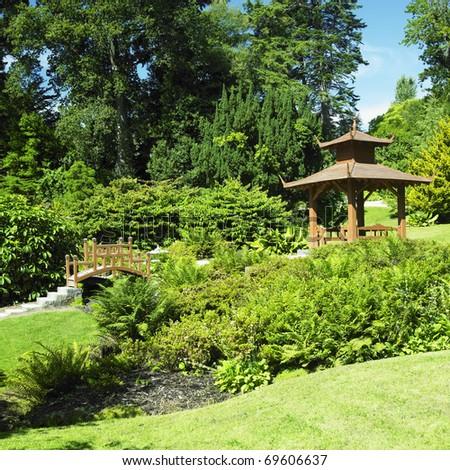 Japanese Garden Powerscourt Gardens County Wicklow Stock Photo ...