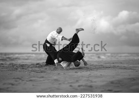 Japanese Martial art - stock photo