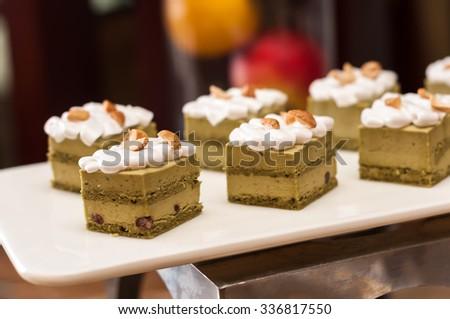 recipe: japanese green tea petits fours [39]