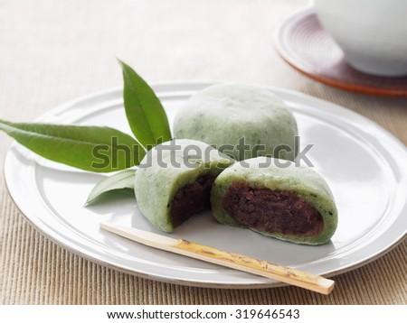 Mugwort Jelly Cake