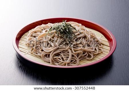 Japanese noodles - stock photo