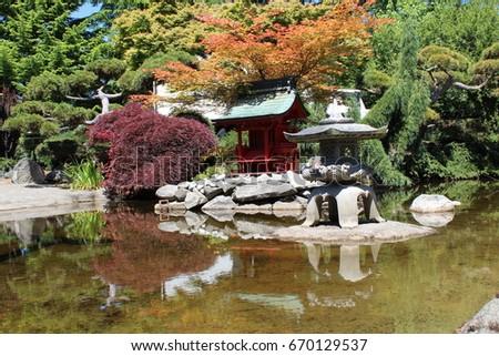 Japanese Pagoda Garden In Tacoma WashingtonTacoma Stock Images Royalty Free  Images Vectors ShutterstockAlaska Gardens In Tacoma Washington Image ...