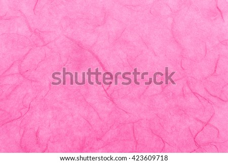 Japanese Pink Washi Paper Background Texture