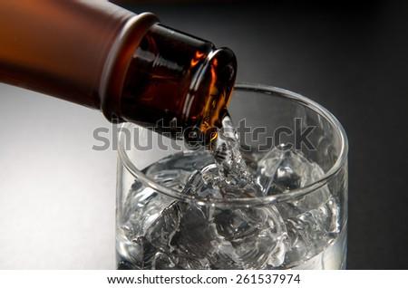 japanese sake - stock photo
