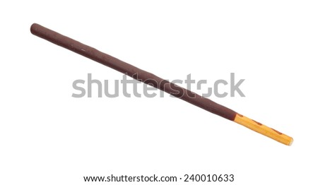 Japanese snack food biscuit stick chocolate coated