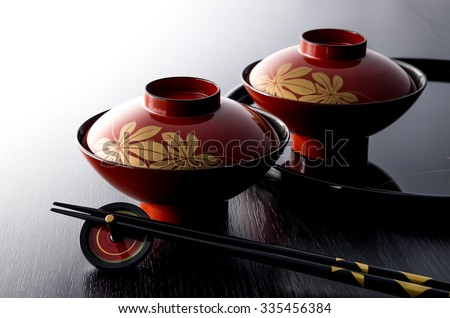 Japanese style - stock photo