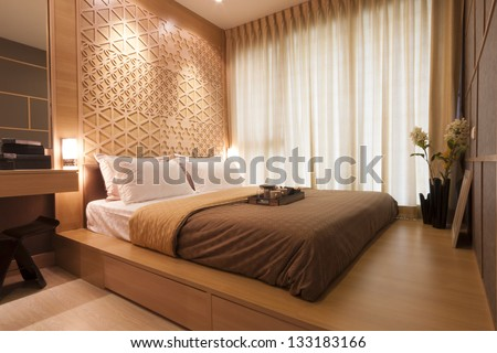 Japanese Style Bedroom Tea Set Stock Photo (Royalty Free) 133183166 ...