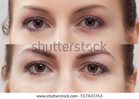 Eyebrows Stock Photos, RoyaltyFree Images \u0026 Vectors  Shutterstock
