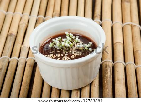 Japanese Traditional Seasoning Soy Sauce - stock photo