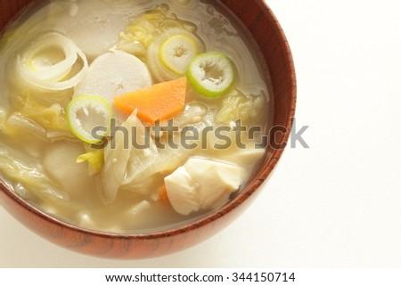 food kenchinjiru miso soup japanese vegetarian food kenchinjiru ...