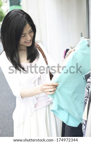Japanese Woman to shop