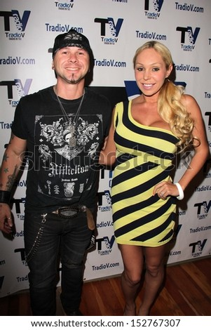 "Jared Blake, Mary Carey at ""Politically Naughty with Mary Carey"" Featuring Jared Blake, TradioV Studios, Los Angeles, CA 08-26-13"